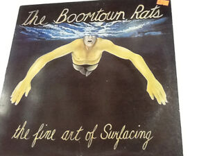 THE BOOMTOWN RATS Vinyl Record Collectible $10
