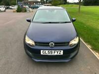 2009 Volkswagen Polo £30 ROAD TAX FOR A YEAR, FREE DELIVEYR(T&C APPLY) 1.6 TDI S