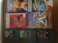 NES action set and games