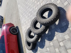 Brand new set of 4 BF Goodrich All-terrain tires