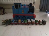21 x Thomas the tank engine characters