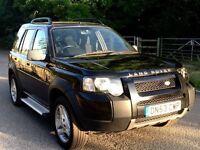 Land Rover freelander SE leather auto diesel