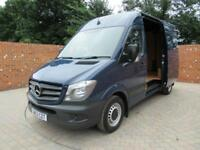 MERCEDES BENZ SPRINTER 316 CDI MWB HIGH ROOF CRUISE CONTROL 3 SEATS