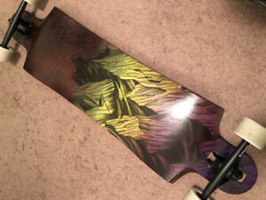 "Landyachtz Longboard Switchblade 38"" Mountain Yellow Fade"