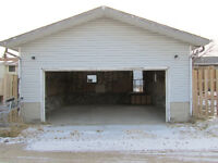 Oversize Double Garage for Cold Storage
