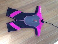 Girls wetsuit age 7ish