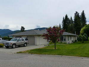 2 bed 2 bath one level Townhouse in The Villas 55 plus in Lumby.