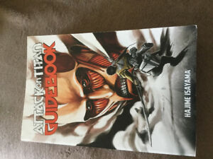 Like new, Attack on Titan guide book