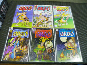 Groo The Wanderer Image Dark Horse lot of 6 comics