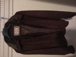 Almost new Italian Suede Jacket large size $30