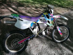 1994 KTM 440 exc Blue plated needs top end