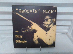 DIZZY GILLESPIE - Groovin High Jazz WOOD MOUNTED Cover Picture