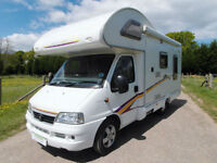 Swift 590RL - 2006 - Rear L Shape Lounge - Great Condition