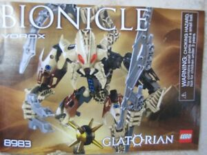 Assorted LEGO BIONICLES