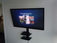 tv wall mounting wallmount bracket installation just for $40