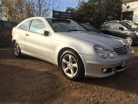 2006 Mercedes C220 AUTO CDI SE 12 Months Mot Full Service History 2 Owners