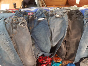 Boys jeans and pants size 7 -8