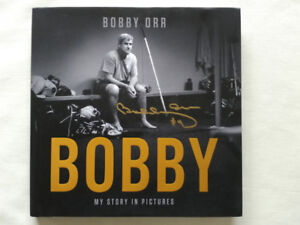 """Signed """"Bobby - My story in pictures"""" book"""