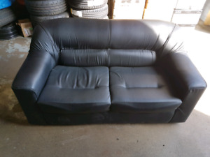Black couch set