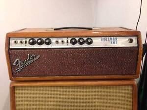Fender Bassman 70s Silver face head Taringa Brisbane South West Preview