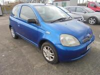 2003 Toyota Yaris 1.0 VVTi Blue MY Colour Collection FULL MOT