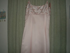 LE CHATEAU Light Pink Formal Dress, Size 10 London Ontario image 2