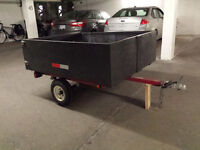 Small trailer for small car