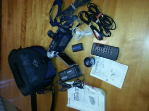 SONY DIGITAL HANDY CAM   -  $35.00 - many accessories