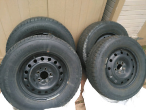 Winter snow tires (set of 4)