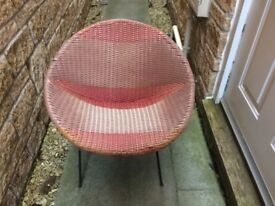 Retro Vintage Rattan Chair