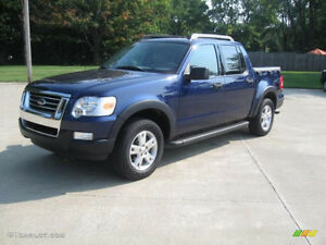 2007 FORD EXPLORER SPORT TRAC XLT 4X4-ONE OWNER-NO ACCIDENT