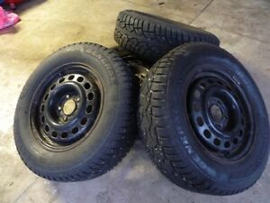 15 Studded Winter Rims and Tires