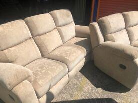 LAZ-BOY reclining 3+2 seaters ex display model