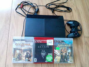 PS3 game player