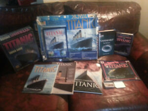 Lot of Titanic collectibles