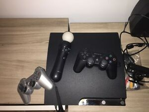 PS3 with multiple accessories for sale (see description)