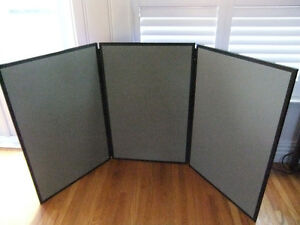 apollo 3 panel velcro display system 36in by 72in