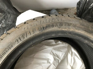 WINTER TIRES 245/40/R17