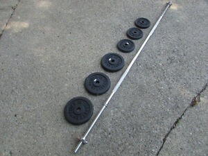 Free Weights and Bar - Weider