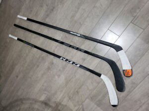 TRADE PREFERRED - RH SENIOR HOCKEY STICKS (3)