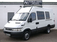 IVECO DAILY 45C17 MINIBUS CREW MOTORHOME CAMPER CELL DOG DAY MOTOX BUS BAND VAN