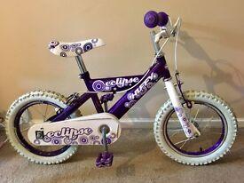 """Girls Bike 14"""" wheel"""