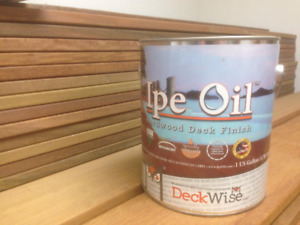 Ipe Oil for your deck