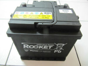 Rocket Group 45L  410 Cranking Amp Battery Fully Charged LikeNew