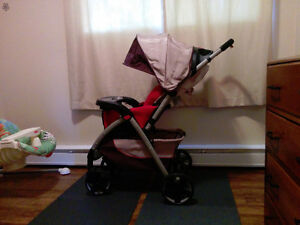 Stroller and Carrier and Car Seat
