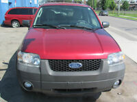 2007 Ford Escape SUV, Crossover safety and e test 130000 KM