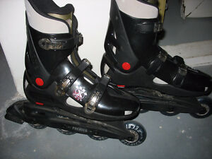 MEN SIZE 8 TECHICA INLINE SKATES. GREAT SHAPE. $50