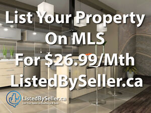 List Your Property On MLS For $26.99 Per Month