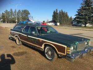 Ford wagon buy or sell classic cars in canada kijiji classifieds 1978 ford ltd country squire sciox Gallery