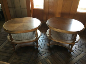 Coffee Table and End Tables - $100